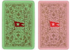 Karty do gry White Star Line z wzoru używanego na Titanicu