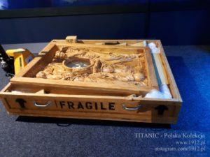 """Przyjazd panelu zegarowego na wystawę """"Titanic - Prawdziwa Historia"""""""