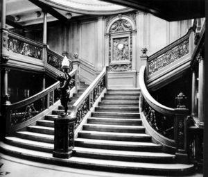 Wielkie Schody - Olympic i Titanic
