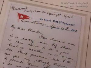 List napisany na Titanicu - na konwencji BTS 2019