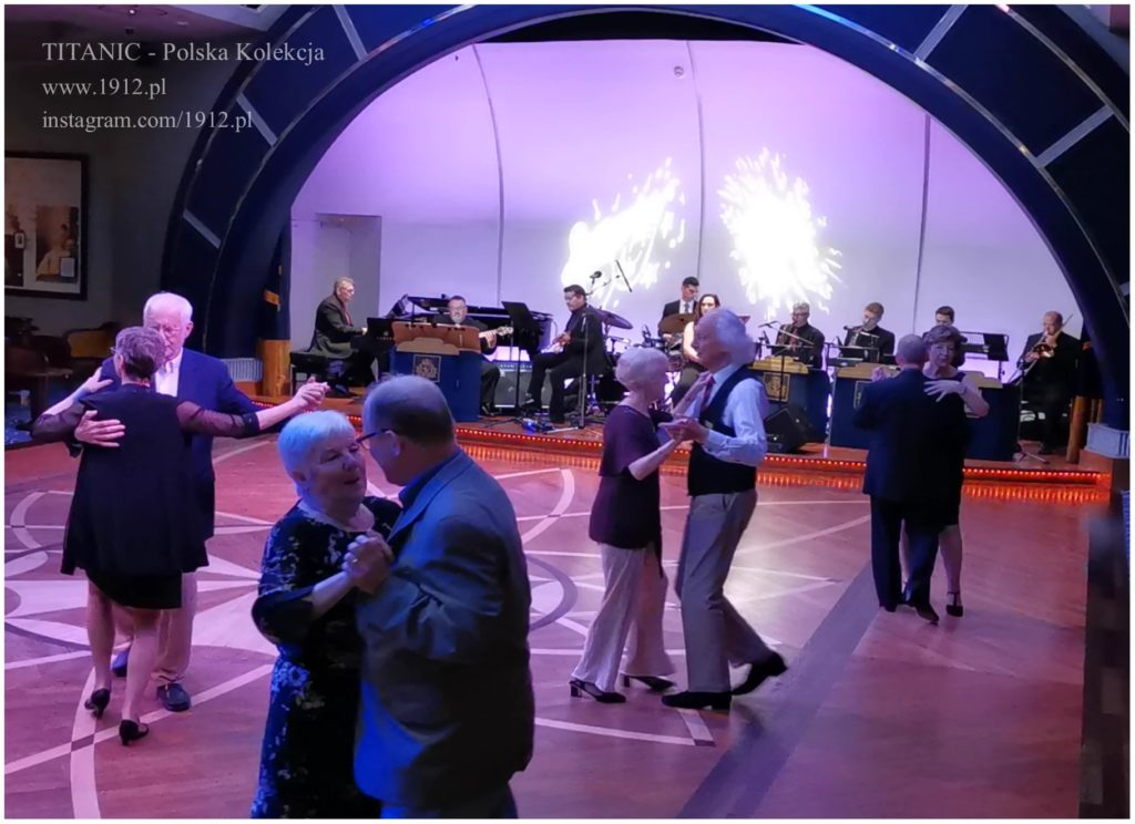 Dancing on Queen Mary 2