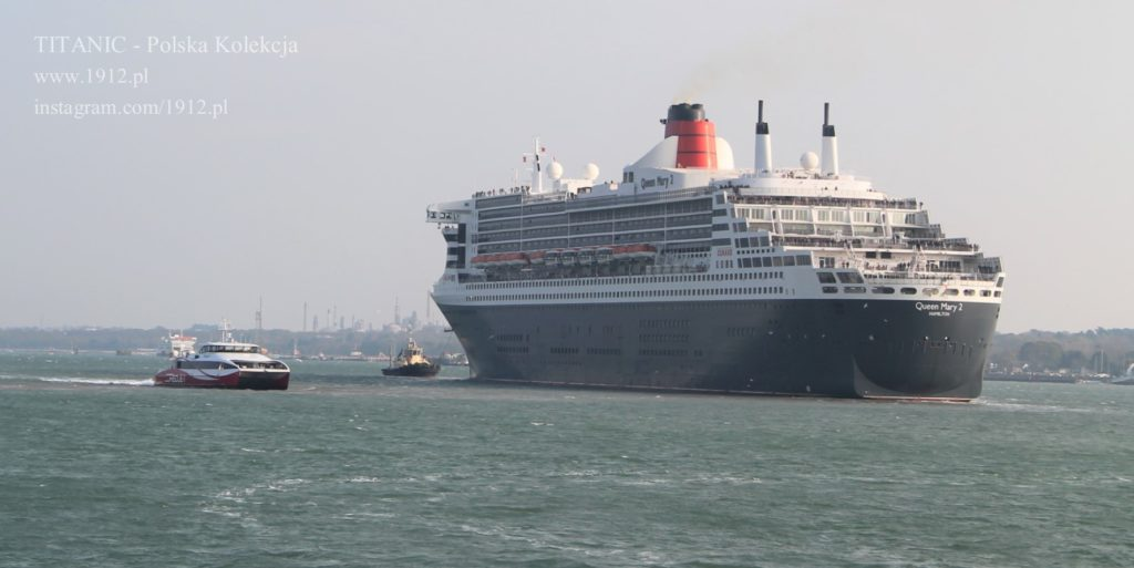 Farewell to QM2, 14.04.2019