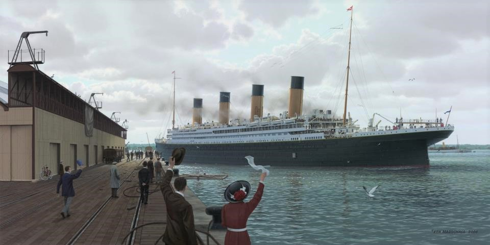 Farewell to Titanic (by K.Marschall)