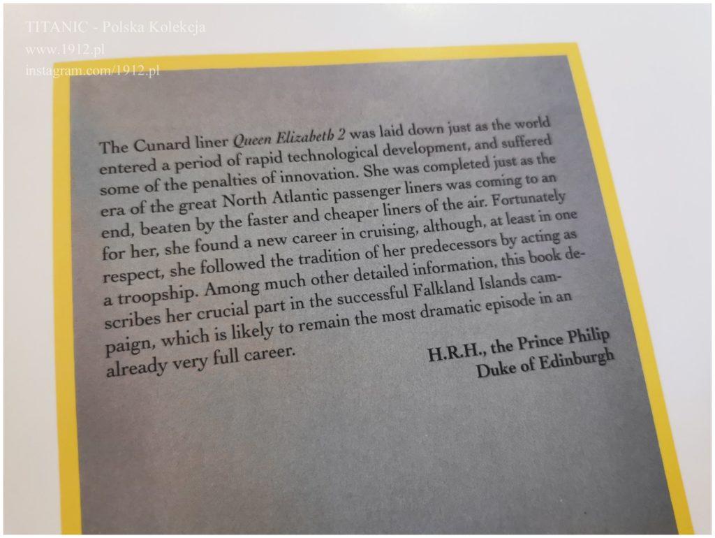 Książka o QE2 - przedmowa