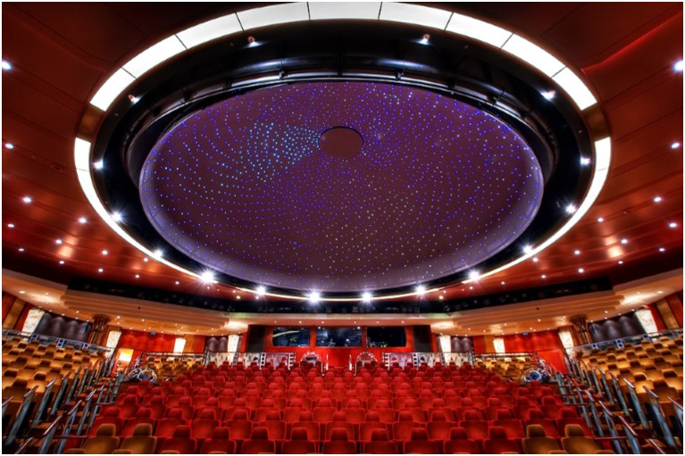 Planetarium na Queen Mary 2