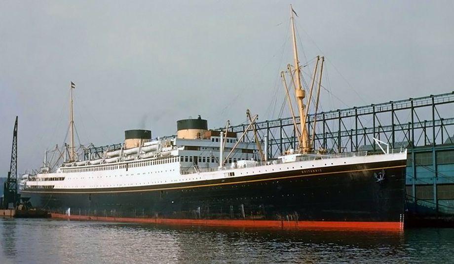 MV Britannic, ostatni statek White Star Line