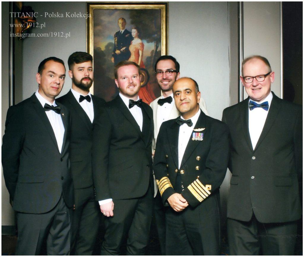 Przywitanie z Kapitanem Queen Mary 2