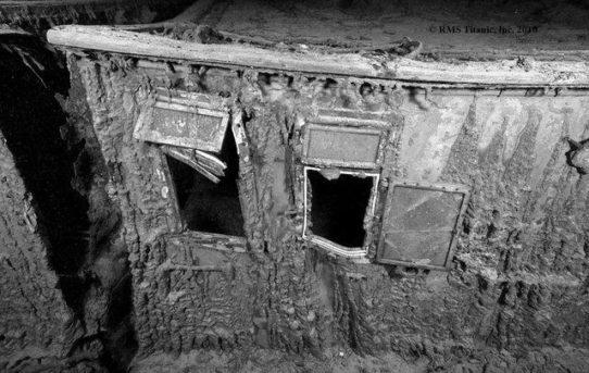 Pokład łodziowy wraku Titanica