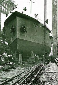 Wodowanie Nomadica - 25 kwietnia 1911