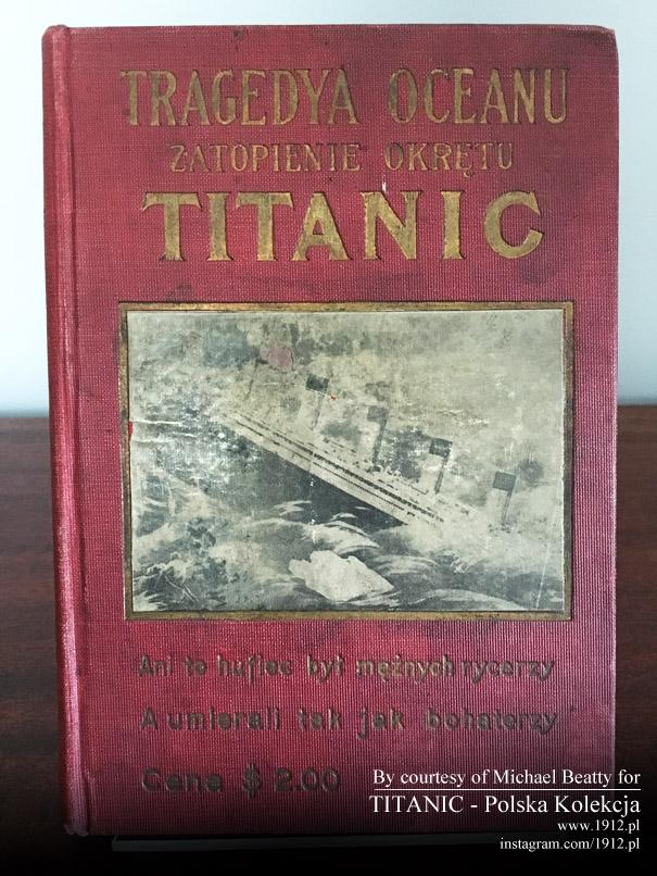 Polska książka o Titanicu z 1912 roku