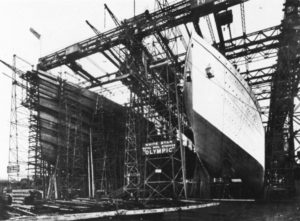 Konstrukcja Titanica i Olympica