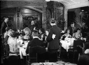 RMS Olympic - salon jadalny siostrzanego statku Titanica