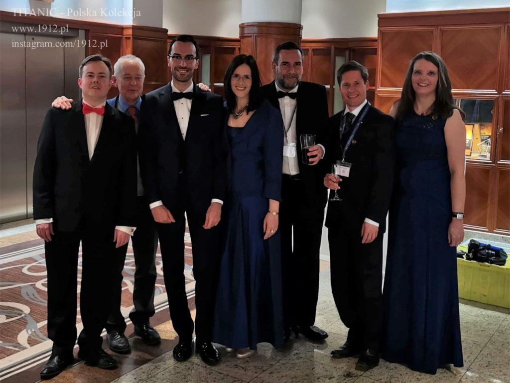 W gronie znajomych na konwencji British TItanic Society 2019