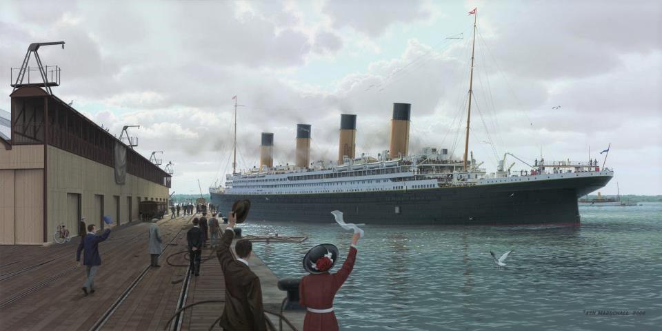 Farewell to Titanic (by K.Marschall)