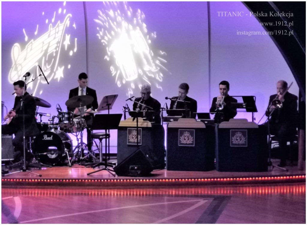 Jazz band on Queen Mary 2