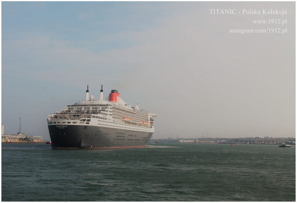 Queen Mary 2, Southampton 2019