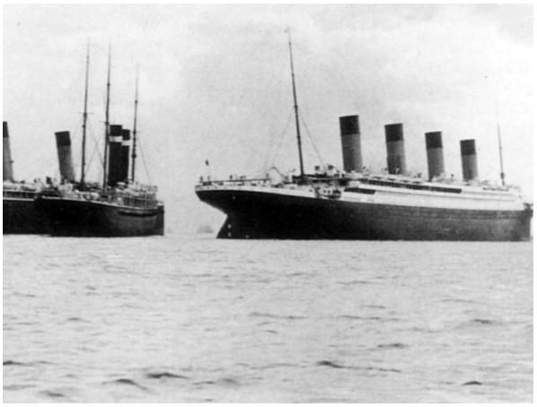 Titanic - incydent ze statkiem New York