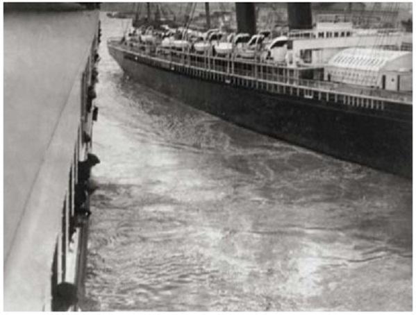 Titanic - incydent widziany z pokładu