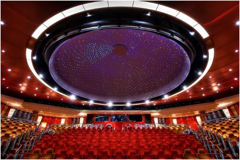 Planetarium na Queen Mary 2