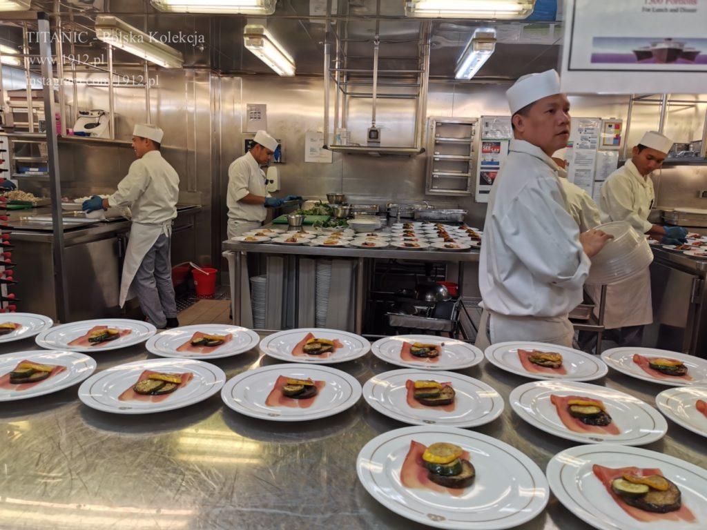 Kuchnie na Queen Mary 2