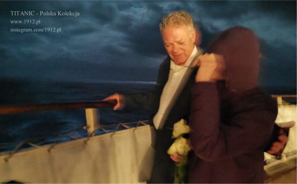 Składamy kwiaty w miejscu tragedii Titanica