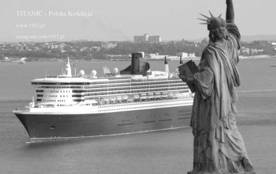 Queen Mary 2 w Nowym Jorku