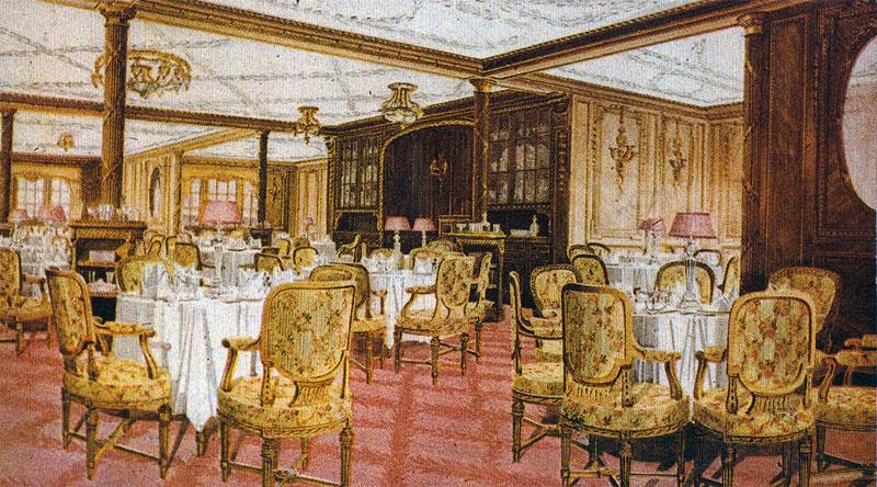 Olympic i Titanic - Restauracja A la Carte